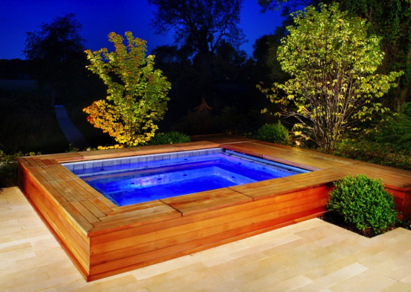Beauty On A Budget Above Ground Pool Ideas Home Lighting Guide Tips