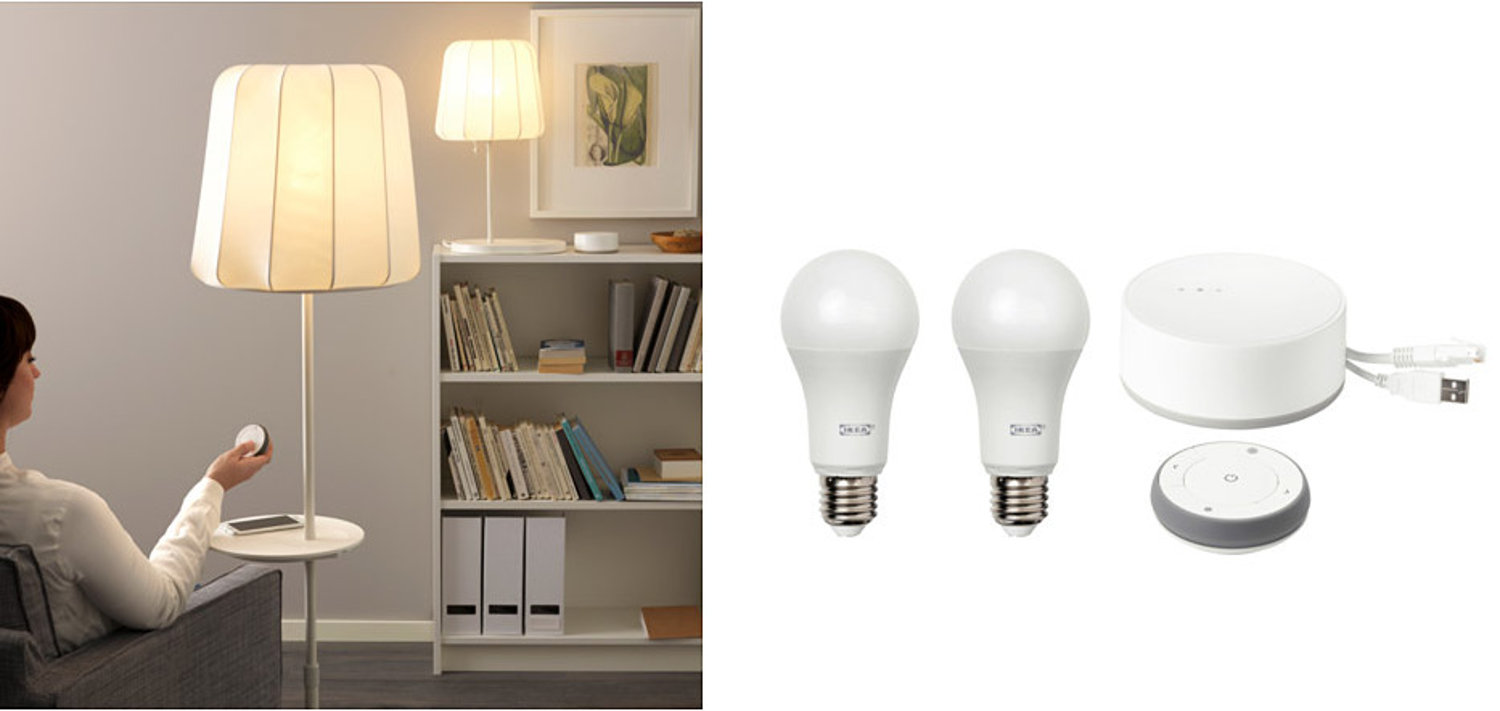 Ikea Adds Philips Hue to Smart-Home Lighting Collection | Home ...
