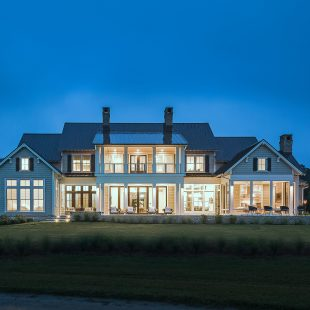 Spectacular Lutron Lighting System Combines with Elan Control System to Automate Country Home