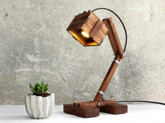 18 spectacular handmade wooden lamp designs the perfect