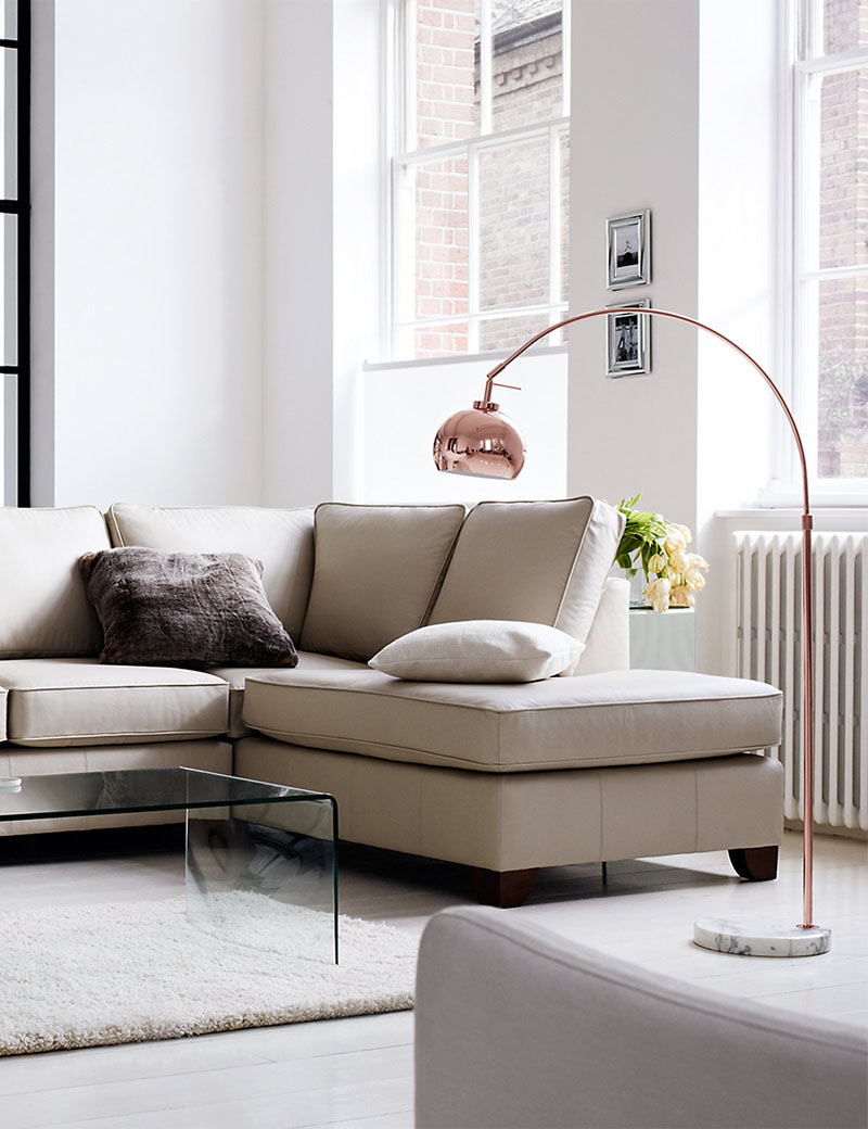 Curved Floor Lamps for Living Room