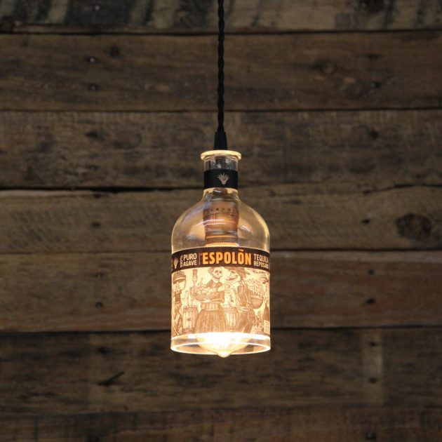 15 unique handmade bottle light ideas for creative lighting home lighting guide tips - Creative lighting ideas ...
