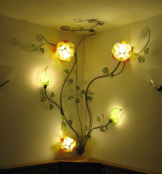 Most Extravagant Flower Lamp Designs
