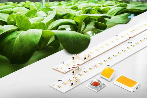 The latest packaged LED offerings from Samsung Electronics target horticultural lighting.